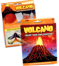 VOLCANO MAKE YOUR OWN ERUPTION SCIENCE TOY BOYS GIRLS CHRISTMAS STOCKING FILLER