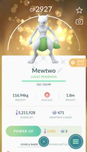 Pokemon Account Go Shiny Mewtwo - In Stock - PTC Mini - Buy 2 Get 1 Free