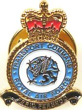 028b30f55379 RAF ROYAL AIR FORCE TRANSPORT COMMAND HAND MADE PLATED IN UK LAPEL PIN BADGE