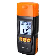 Digital LCD Wood Moisture Meter Humidity Tester Timber Damp Detector Tester