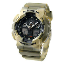 Casio G-Shock Black Dial Resin Quartz Men's Wrist Watch - GA100MM-5A