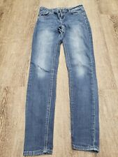 """HIPPIE LAUNDRY jeans Ladies size 26 Mid Rise Skinny Soft Jegging 29"""" Inseam"""