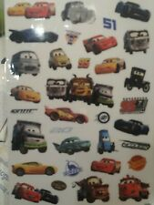Neu! Cars PIXAR Disney Fensterbilder Window decoration Sticker-Set