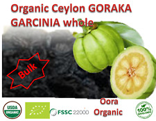 Garcinia Cambogia Smoked Curry additive for Weight loss Slim body Black pieces