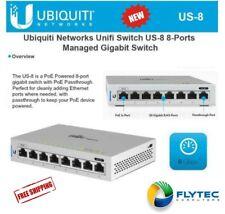 Ubiquiti Networks Unifi Switch US-8 8-Ports Managed Gigabit Switch