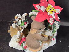 Charming Tails YOU ADD COLOR TO THE SEASON # 87/156 Mouse Poinsettia