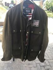 Barbour Steve Mcqueen Xxl Crown Jacket V Rare Great Condition Wax Stars Stripes