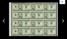 3 SHEETS TOTAL Fr. 1991-L $5 2003A Fed2 SHEETS PLUS FR1991L $5 2003A Fed 1 SHEET