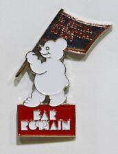 PINS BAR ROMAIN VILLARD DE LANS 38 FESTIVAL DU PIN'S OURS BLANC / ROUGE