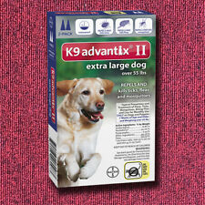 K9 Advantix II for Blue Extra Large Over 55lbs - 6 Pack (US EPA Approved)