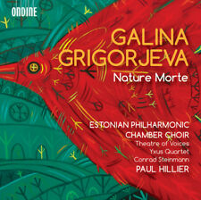 Galina Grigorjeva : Galina Grigorjeva: Nature Morte CD (2016) ***NEW***