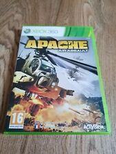 Xbox Spiele 360 Apache Air Assault komplett manuelle Retro Shooter Kriegsführung Kostenlose p&p