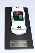 TRIUMPH TR6 GROUP 44, HAND-BUILT MODEL, WHITE METAL & RESIN, 1/43 SCALE