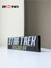 More details for decorative self standing star trek discovery logo display