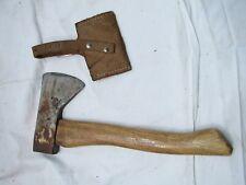Norlund Camping Hatchet Axe Wood Tool Single Bit Tomahawk Hudson Bay w/Sheath