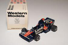 I WESTERN MODELS WM WRK39 TOLEMAN TG 183 CANDY RACING CAR DARK BLUE MINT BOXED