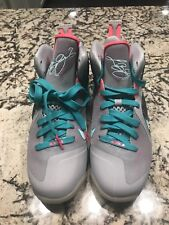 Nike Air Max LEBRON IX 9 P.S. PS ELITE SOUTH BEACH PRE-HEAT Miami Grey Pink.