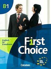 First Choice: B1 - Kursbuch: Mit Magazine CD, Classroom ... | Buch | Zustand gut