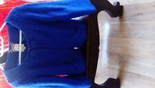 Ladies Blue Short Jacket
