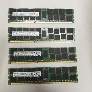 Samsung 64GB (4x16GB) PC3L-12800R DDR3L 1600MHz ECC Server RAM M393B2G70QH0-YK0