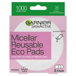 Garnier Micellar Reusable Eco Pads 3 Pack