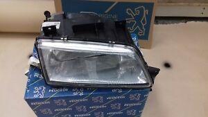 NEW GENUINE PEUGEOT 405 RIGHT HAND SIDE HEADLAMP HEAD LIGHT LAMP DRIVERS SIDE RH