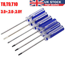 UK T8 T9 T10 Torx Security Magnetized TamperProof Screwdriver Tool Xbox 360 PS3