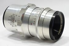 Feinmess Dressden Bonotar V 105mm 1:4 lens, fits Pentax M42 camera mount