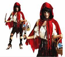 LIL' DEAD RIDING HOOD FANCY DRESS COSTUME HALLOWEEN - LARGE 14 - 16