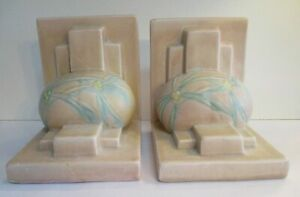Roseville Dawn 4-5 Bookends Pink