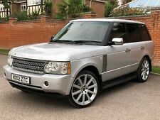2002 RANGE ROVER HSE 4.4 V8 PETROL AUTO SILVER 73,500 MILES LAND ROVER VOGUE