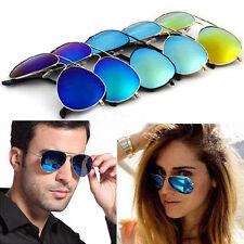 Sonnenbrille Pilotenbrille Fliegerbrille Brille Verspiegelt Fashion Herren Damen