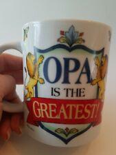 Opa Is The Greatest Ceramic Mug German Grandfather Gift