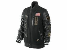 NIKE USA OLYMPIC DREAM TEAM 20TH BASKETBALL LEATHER DESTROYER COAT JACKET LARGE