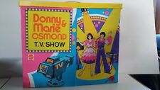 DONNY and MARIE OSMOND TV SHOW PLAYSET, Mattel 1976, STAGE w Original Box. RARE