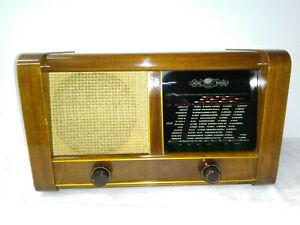 antigua röhrenradio loewe opta-spezial type 3650 w  valvula antiguo rádio music