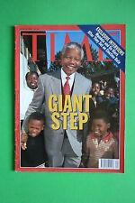 TIME rivista magazine N.24 JUNE 14 1993 NELSON MANDELA GIANT STEP