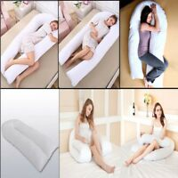 New 9/12 Ft Comfort U Pillow Full Body Back Support Nursing Maternity Pregnancy