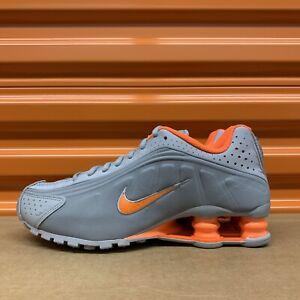 Nike Shox R4 GS Smoke Grey/Hyper Crimson Shoes Sz 6 Youth/7.5 Women's CW2626 001