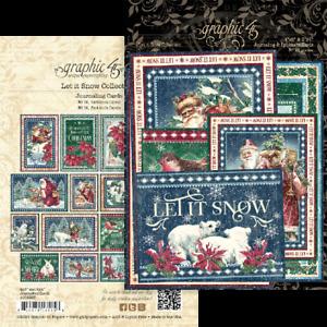 Graphic 45 - Let it Snow - Ephemera & Journaling Cards