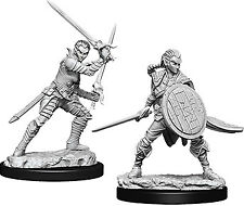 Wzk73410 Pathfinder Deep Cuts Unpainted Miniatures: Female Elf Fighter