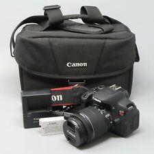 Canon EOS Rebel T5i 700D 18.0 MP DSLR with EFS 18-55mm IS STM Lens - 2K Clicks