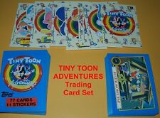 TINY TOON ADVENTURES Complete Trading Card Set