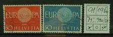 SCHWEIZ 1960 Mi.720-721 EUROPA / Gestempelt USED