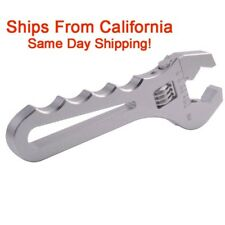 AN3-AN16 Adjustable Silver AN Wrench Fitting Tools Aluminum Spanner