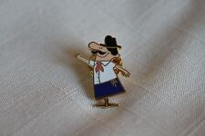 "PIZZA HUT RESTAURANT ""Pizza Pete""  Collectible Enamel Lapel Pin"