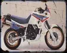 CAGIVA ELEFANT 750 89 1 A4 Metal Sign moto antigua añejada De