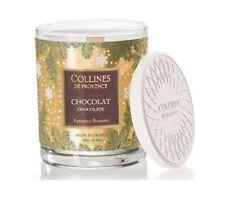 Bougie Parfumée au Chocolat Support en Verre COLLINES DE PROVENCE 180 g /EBDT