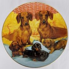 Family Ties by The Danbury Mint - by Susie Morton - Plate
