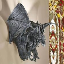 Large Gothic Dragon Gargoyle Creature Haunted Halloween Castle Sculpture